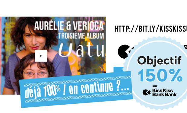 Project visual Aurélie & Verioca, enregistrement du 3ème album : UATU