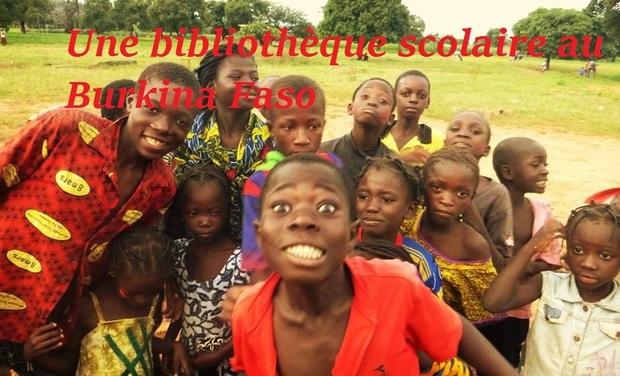 Visueel van project une bibliothèque scolaire au village de Takkaledougou, Burkina Faso