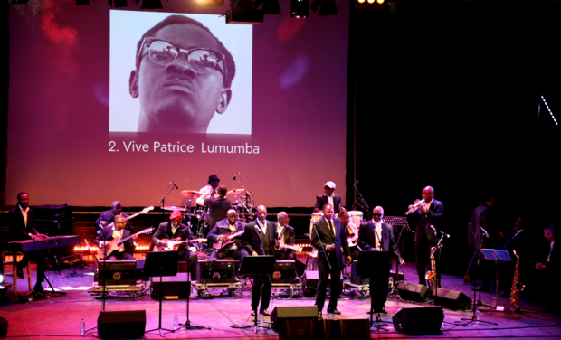 Project visual Rumba Lumumba au Bozar