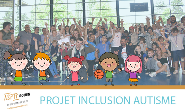 Visueel van project Inclusion enfants - autisme