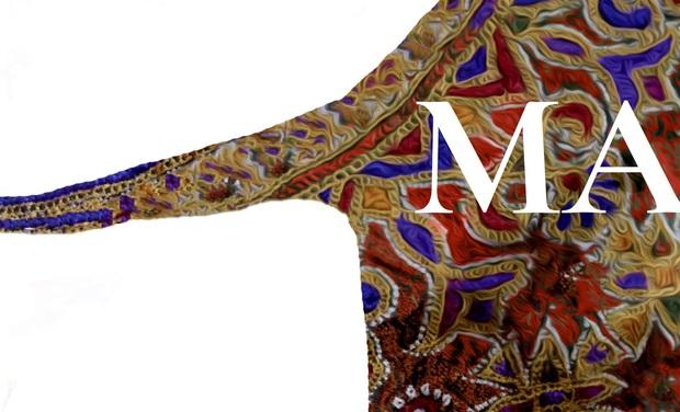 Project visual MA- studio, marque de vêtements uniques pour réactiver l'artisanat textile.