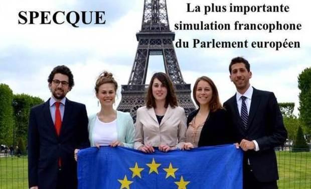 Visuel du projet SPECQUE - La plus importante simulation francophone du Parlement européen