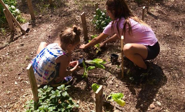Project visual Jardin écologique et pédagogique sur Vins sur Caramy