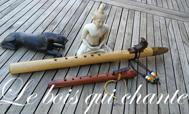 Visuel du projet Atelier de fabrication de flûtes amérindiennes