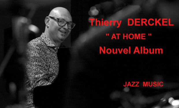 "Visueel van project Thierry DERCKEL création de l'album ""At Home"""