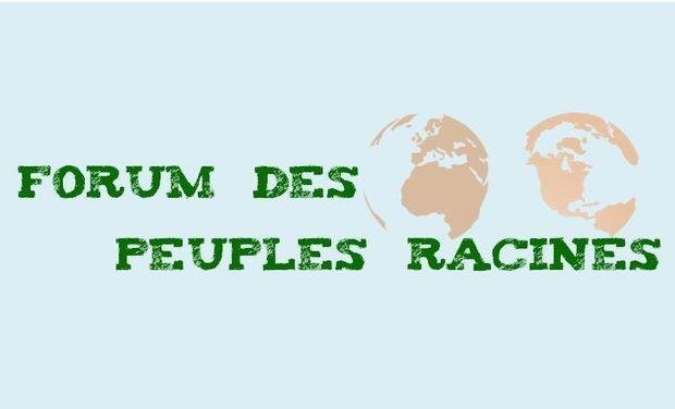 Project visual Forum des Peuples Racines à Strasbourg