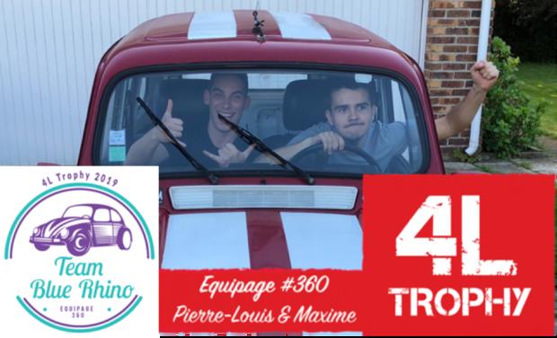 Visuel du projet Rallye-Raid 4L Trophy 2019 - Equipage 360