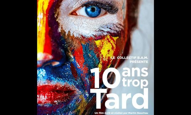 Project visual 10 ans Trop Tard.