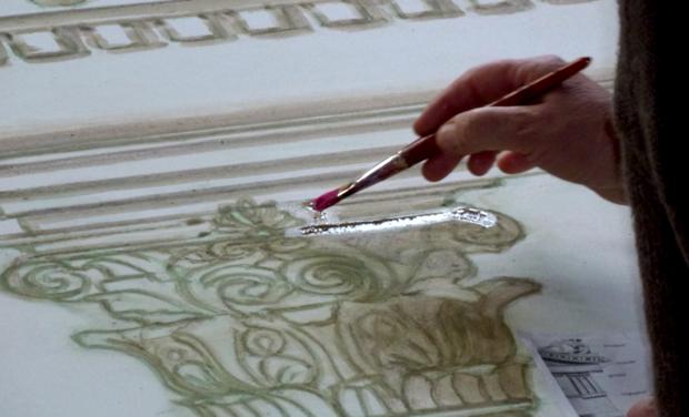 Visuel du projet Décor Peint &Trompe l'Oeil en Cevennes