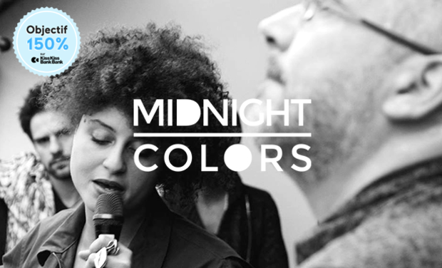 Visuel du projet 1er album de Midnight Colors