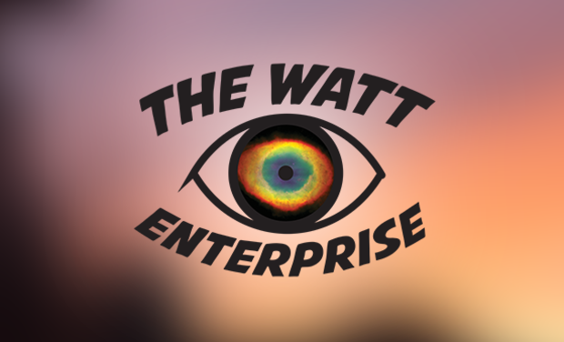 Visuel du projet The Watt Enterprise, label de création musicale.