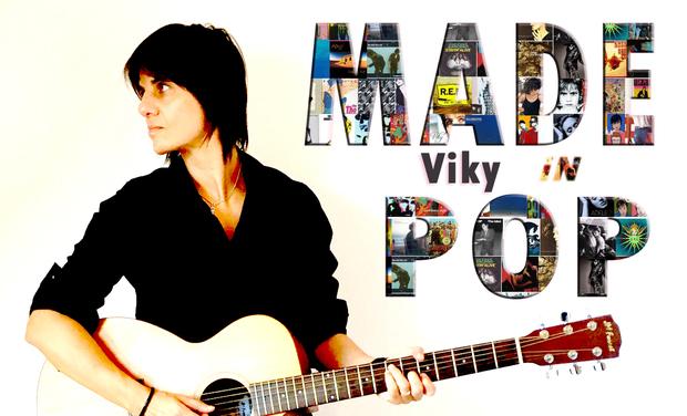 Visuel du projet Made in Pop, le 1er album de Viky Pop!