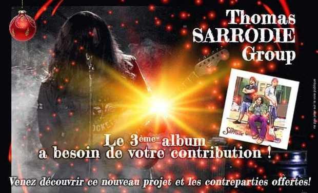 Visuel du projet 3ème Album Thomas Sarrodie Group