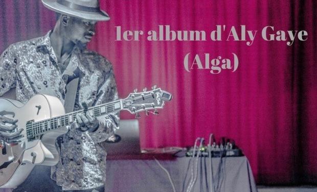 Project visual 1er album digital d'Aly Gaye (Alga)