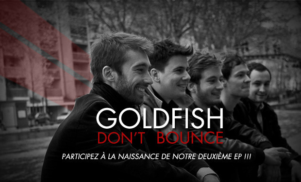 Visueel van project GOLDFISH DON'T BOUNCE - 2ème EP