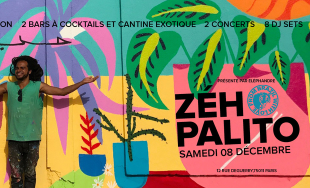 Project visual From Brazil With Love // Éléphandre présente Zeh Palito