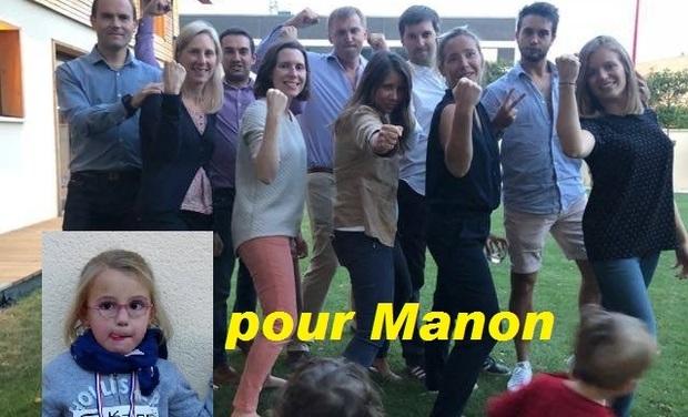 Visuel du projet un Marathon pour Manon!