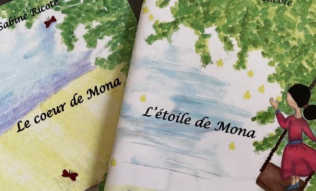 Visuel du projet L'étoile de Mona & Le coeur de Mona : contes illustrés pour enfants