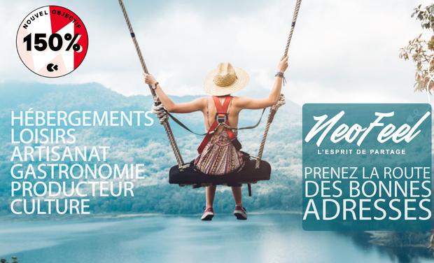 Project visual NEOFEEL - Voyagez en France différement