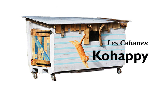Project visual Les Cabanes Kohappy
