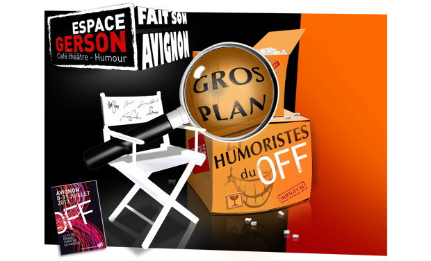 Project visual L'Espace Gerson fait son Avignon ! Off 2013