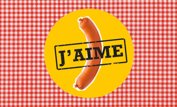 Project visual J'aime la saucisse