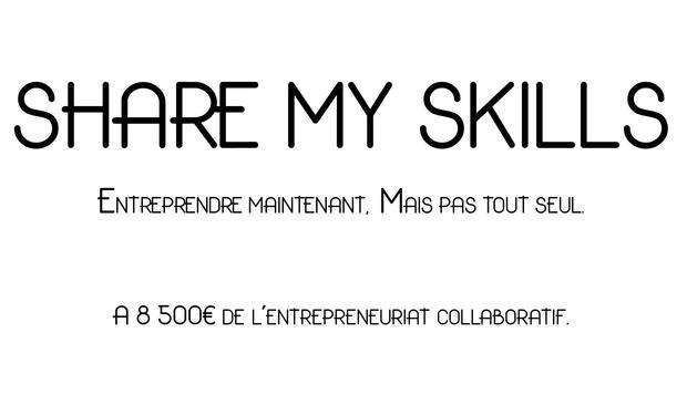 Project visual Share My Skills : Participez au développement de l'entrepreneuriat collaboratif