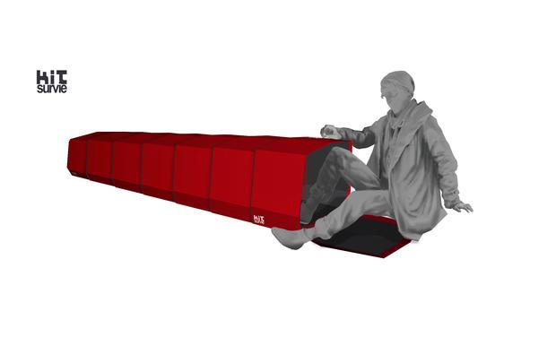 Visuel du projet Capsule de sommeil Kit de survie pour sdf