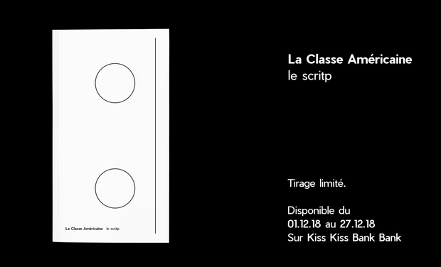 Project visual La Classe Américaine     le scritp