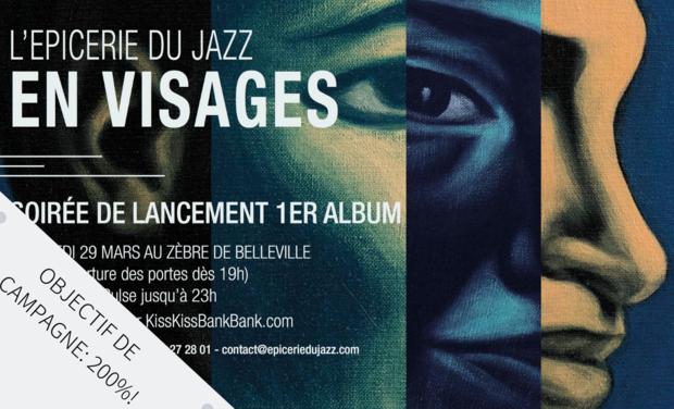 Project visual 1er Album - l'Epicerie du Jazz
