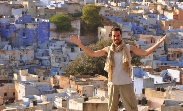 Visuel du projet ÇA MARCHE POUR MOI - Une traversée de l'Inde à pied... en 90 jours !