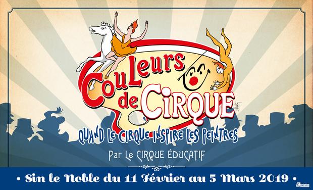"""Visuel du projet """"Couleurs de cirque"""" par Le Cirque éducatif"""
