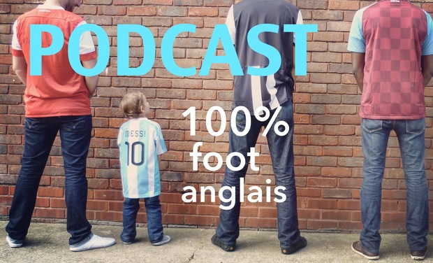 Visueel van project Podcast 100% foot anglais