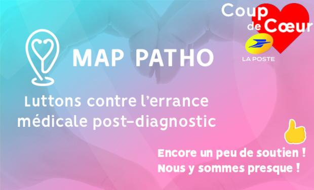 Visuel du projet MAP Patho: Trouvez l'expert de votre pathologie ❤️
