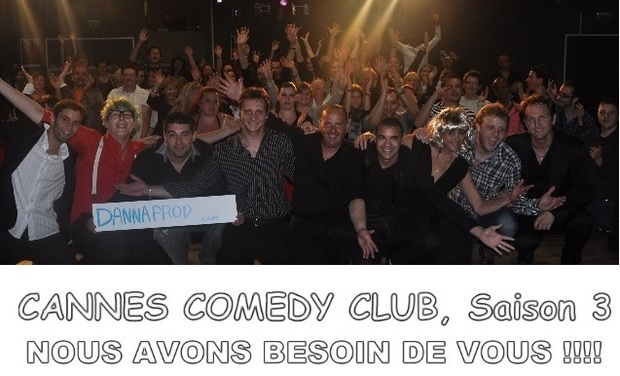 Project visual Cannes Comedy Club saison 3