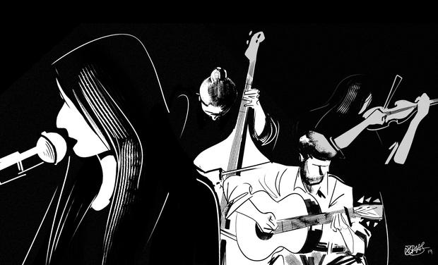 Project visual Vidéo du Cuarteto Berretin en animation 2D réalisée par Nicolas Balas