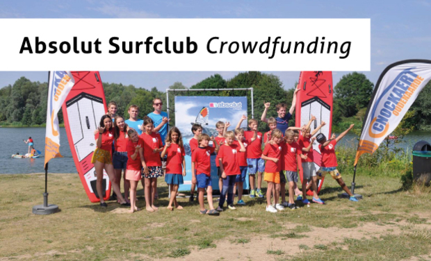 Visuel du projet Nieuwe initiatie-windsurfboards voor Absolut Watersportclub vzw