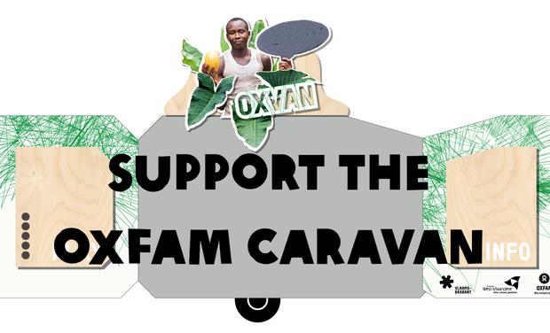 Visueel van project Oxfam Caravan