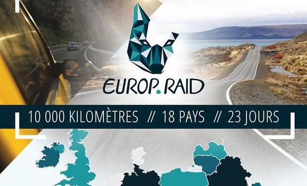Visuel du projet Europ'Raid : Le rallye humanitaire