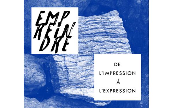 Project visual Mouvement Rhizomatique - Exposition Empreindre
