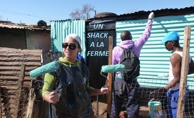Project visual Un shack à la ferme
