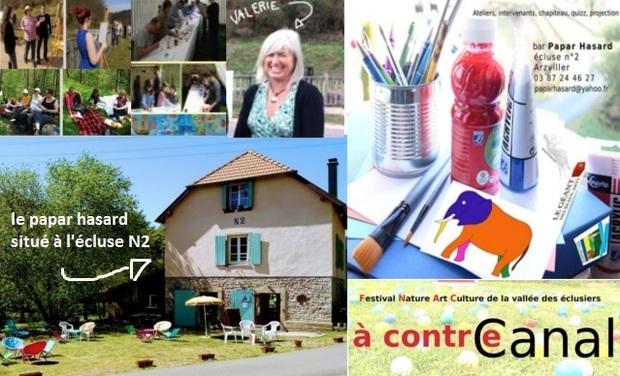 """Visuel du projet """"A Contre Canal"""" le festival du Papar Hasard"""