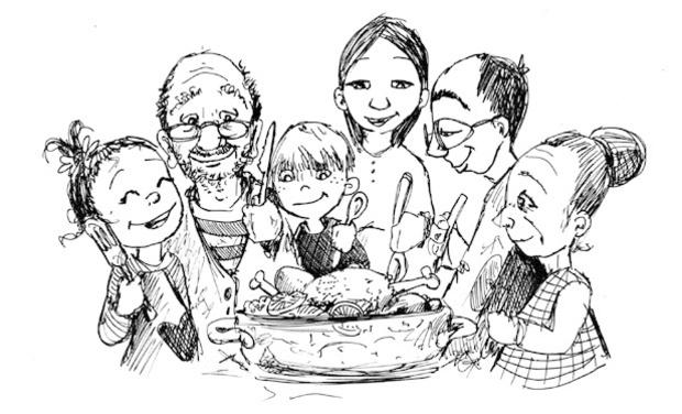 Project visual Manger bon, manger maison