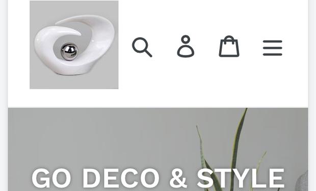 Visueel van project Ecommerce decoration GO DECO & STYLE