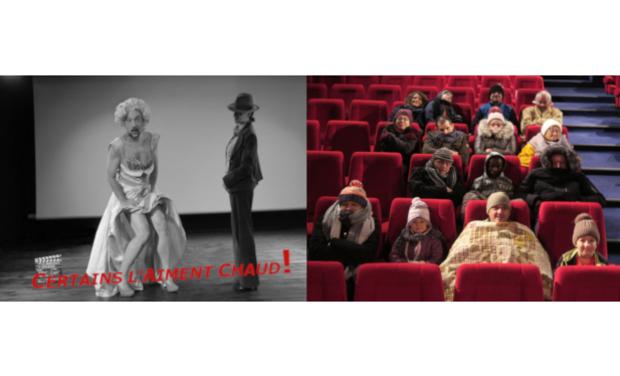 Visuel du projet Certains l'aiment chaud! ou... Soutien au Cinéma le Montcelet!