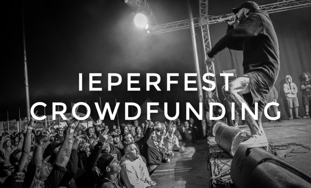 Visueel van project Ieperfest crowdfunding