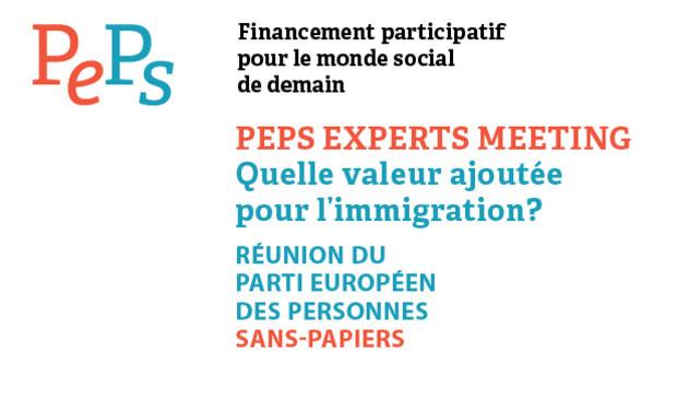 Visuel du projet Création Parti Européen des Sans-Papiers - conférence d'experts