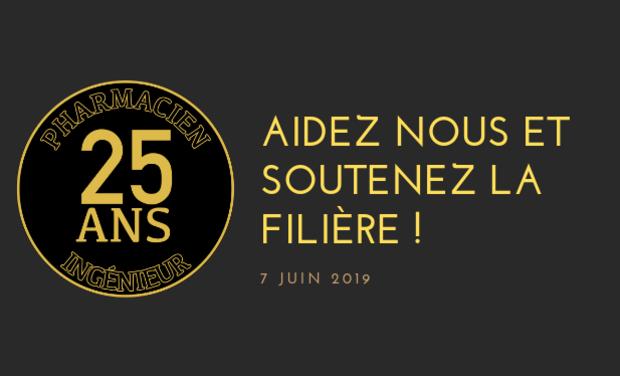 Project visual Anniversaire 25 ans Filière Pharmacie-Ingénieur