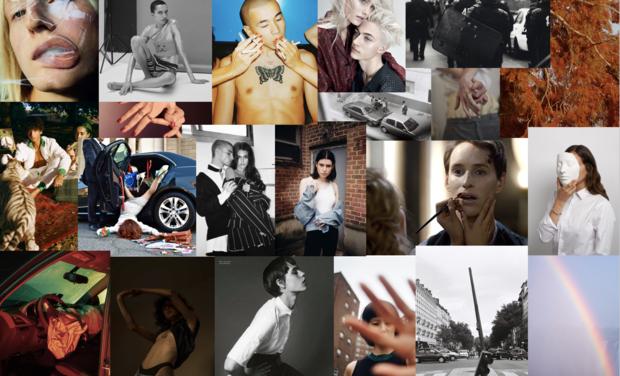 Project visual Création d'un magazine