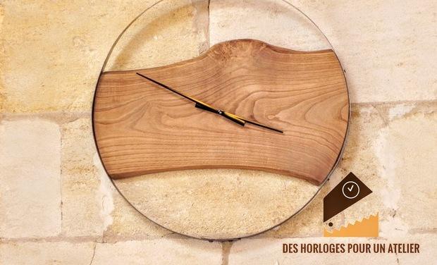 Visuel du projet Des horloges pour un atelier